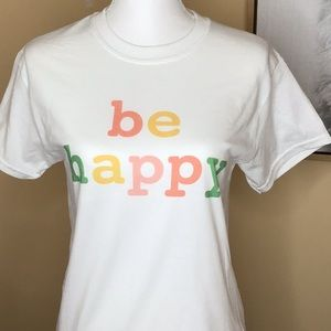 Graphic T Shirt - be happy